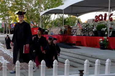 Paul graduating from Foothill College June 2014