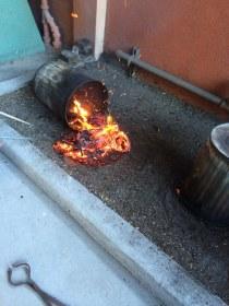 Dragon in Raku Fire