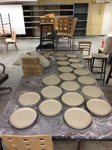 Paul ceramic plates July 2016