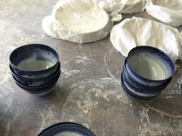 4 Aug 2016 ceramic plates by Paul D. Goodman