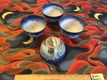 4 ceramic bowls Paul D. Goodman September 2016