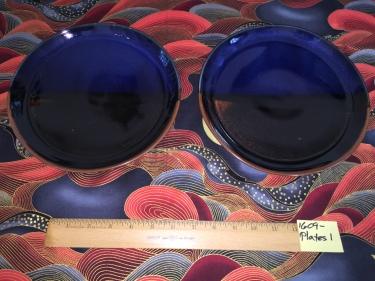 2 ceramic plates Paul D. Goodman September 2016