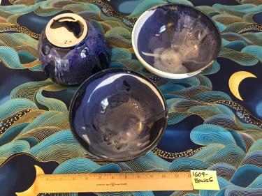 3 ceramic bowls Paul D. Goodman September 2016