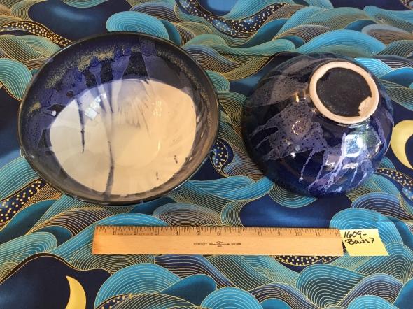 2 ceramic bowls Paul D. Goodman September 2016