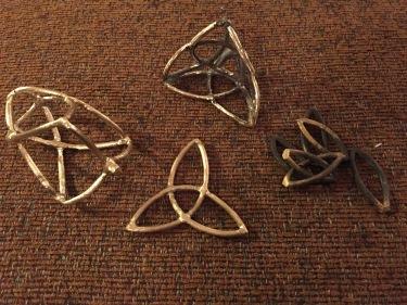 Paul D Goodman - Yggdrasil brass jewelry-sculpture 30 Nov 2017