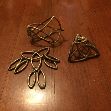 Paul D Goodman - Yggdrasil brass jewelry-sculpture 14 Dec 2017