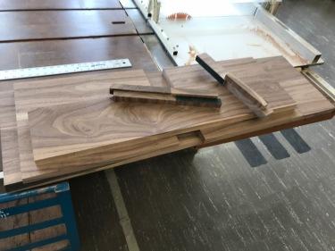 Paul D. Goodman walnut bench wood Nov 2017