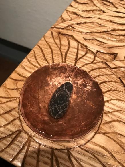 Water - A basalt stone